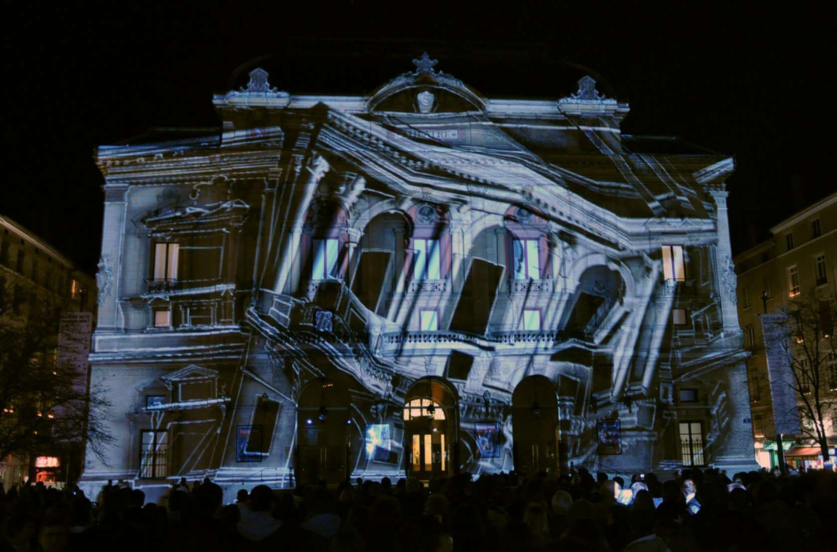 Advantages of projection mapping