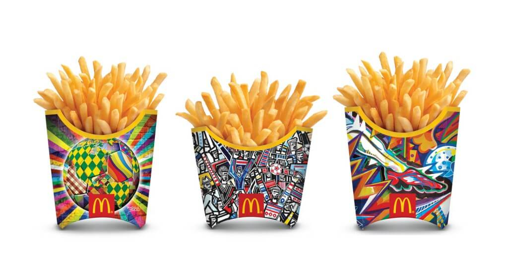 McDonalds, Augmented Reality, AR, Srushti IMX